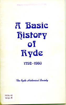 A Basic History of Ryde